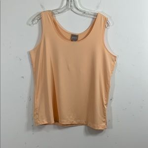 Chico's size 2 peach tank top